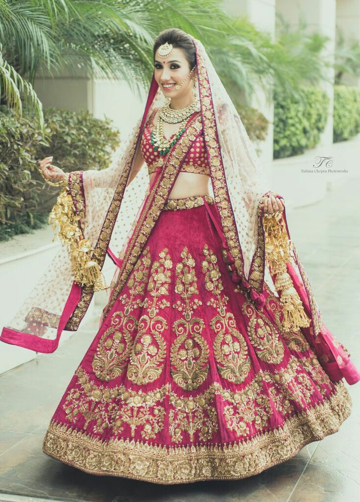 Indian Bridal wear red dress