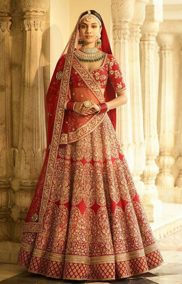 The Magenta wedding lehenga