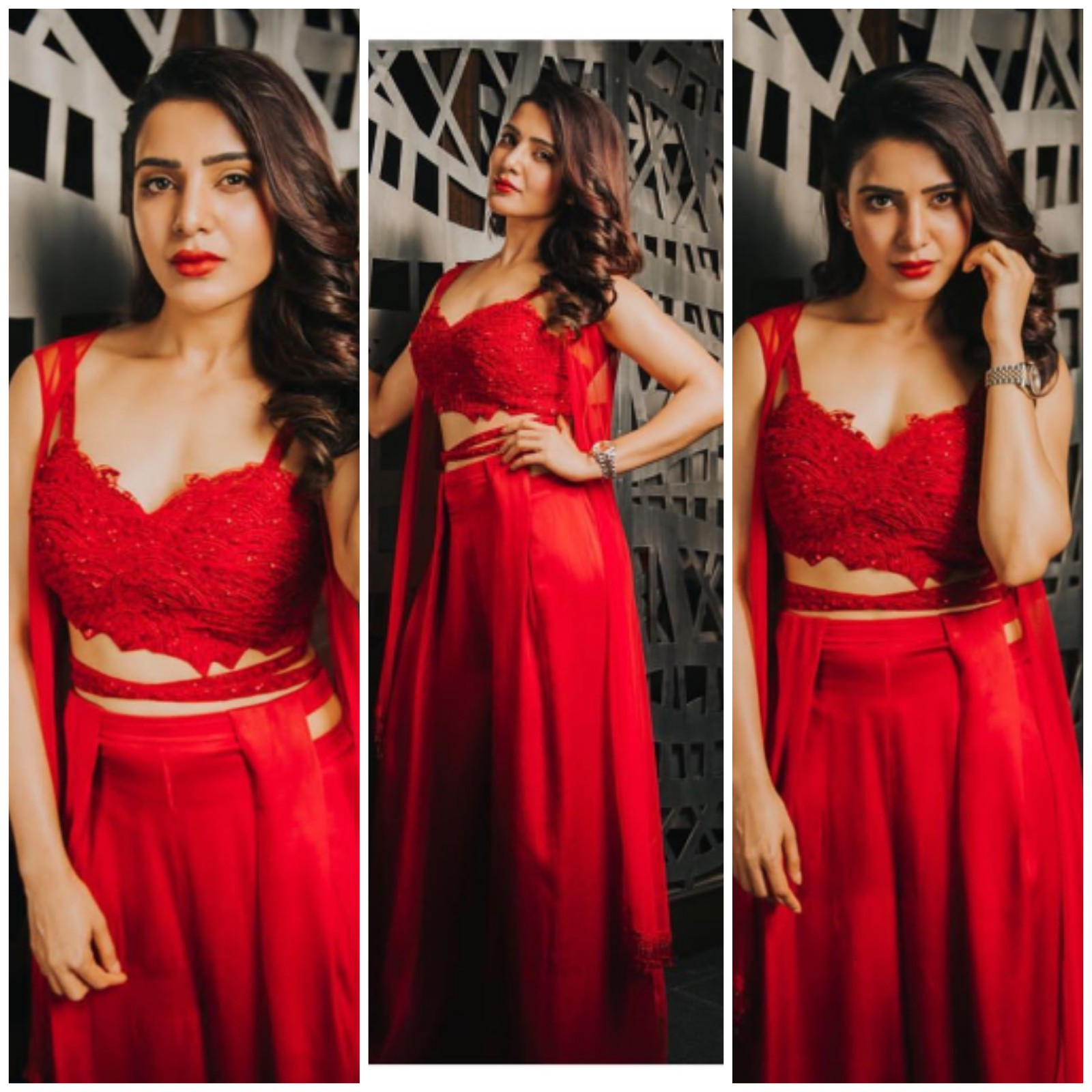 Samantha Akkineni latest dress collection in event